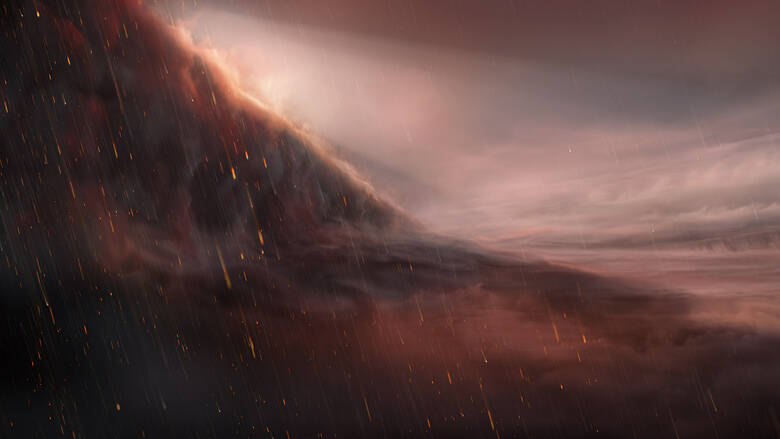 Ανακαλύφθηκε καυτός εξωπλανήτης όπου βρέχει… σίδηρο