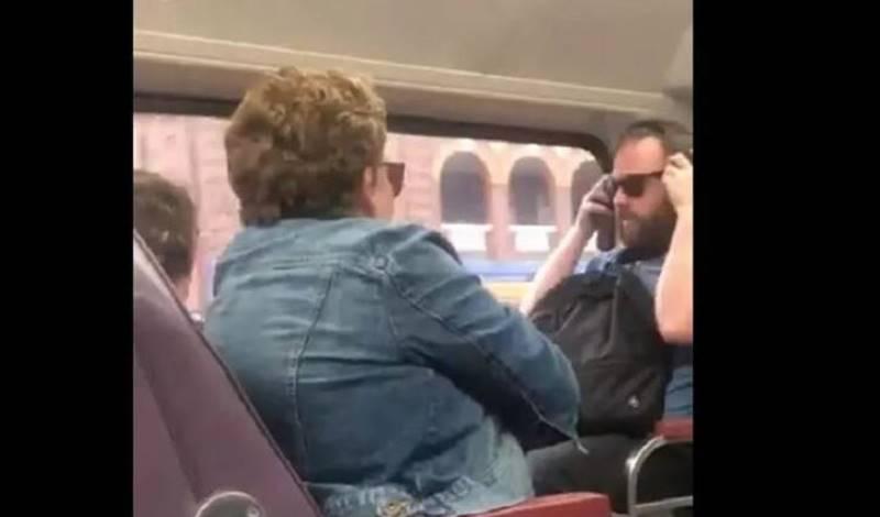 Κορωνοϊός: «Έβηξες πάνω μου;» – Επιβάτες τρένου καυγαδίζουν και γίνονται viral