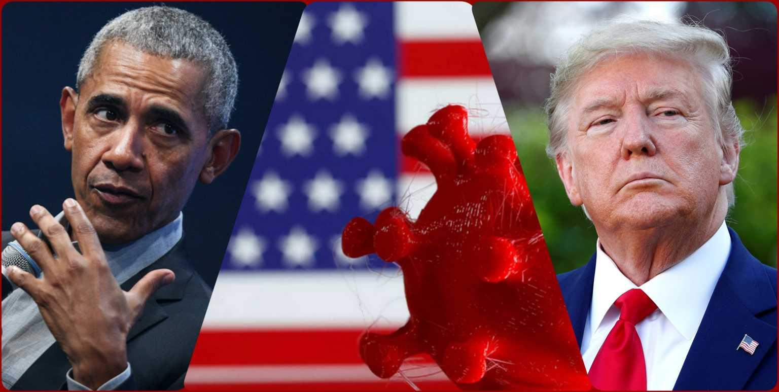 «Ρουκέτες» Ομπάμα για Τραμπ ενώ «καλπάζει» ο κορονοϊός στις ΗΠΑ – Συναγερμός σε αεροπλανοφόρο