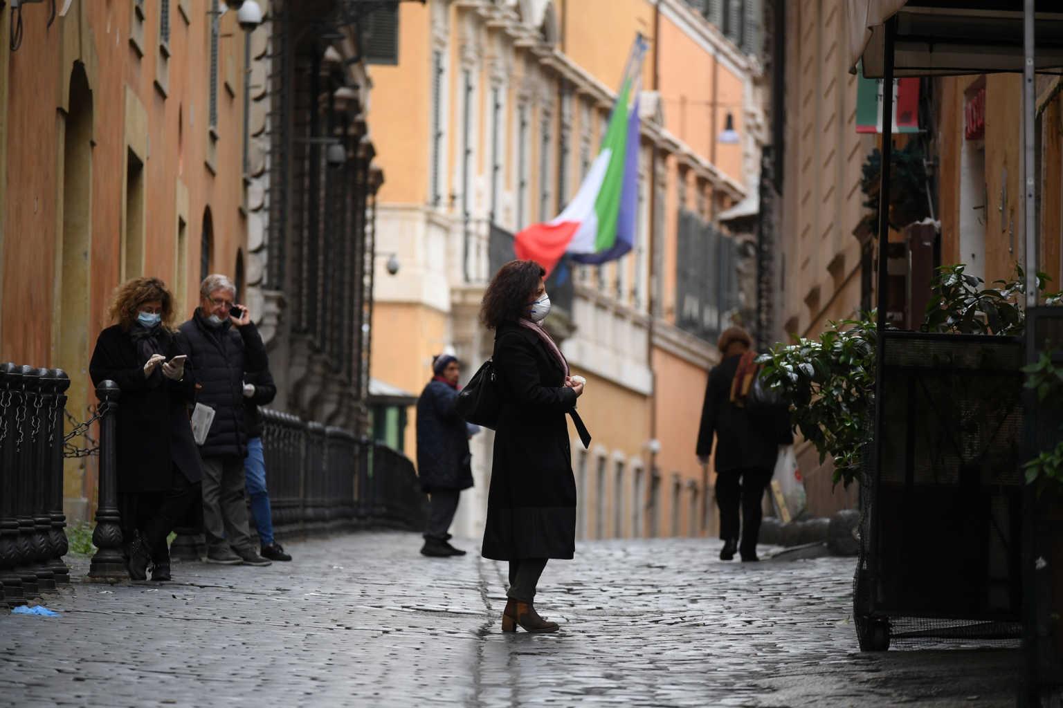 Έκτακτα μέτρα στην Ιταλία – Κουπόνια για σούπερ μάρκετ και τρόφιμα στους φτωχούς