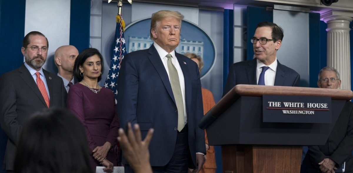 Ο Τραμπ θα ανακοινώσει μια «σημαντική πληροφορία» για τον κορονοϊό