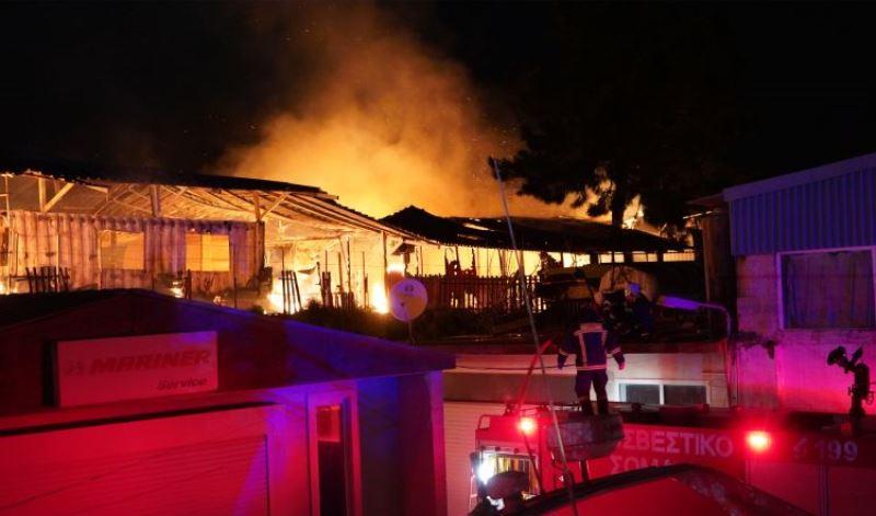 Συμβόλαιο εμπρησμού η φωτιά στο One Happy Family, στη Λέσβο