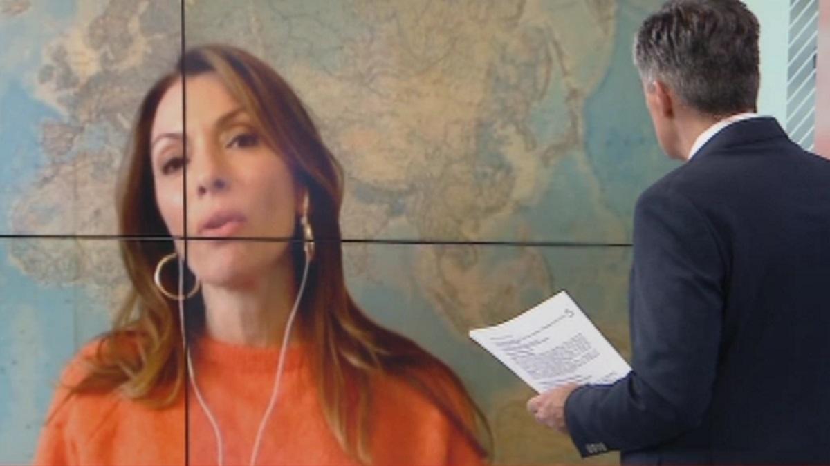 """Η Αλεξάνδρα Πασχαλίδου στο Live News: """"Εδώ, στη Σουηδία, έχουν μια άλλη νοοτροπία για τον κορονοϊό"""""""