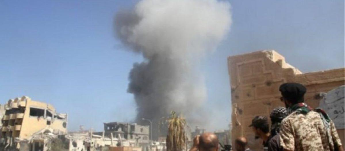 """Προελαύνει ο Εθνικός Στρατός της Λιβύης: «Πλήξαμε το αεροδρόμιο """"Μίτιγκα"""" στην Τρίπολη – Σκοτώσαμε Τούρκους»"""