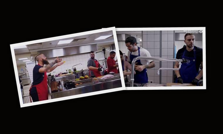 MasterChef: Η σπρωξιά, ο τραυματισμός και η «αλήθεια» της κάμερας – Ένταση στην κουζίνα (Pics-Vid)
