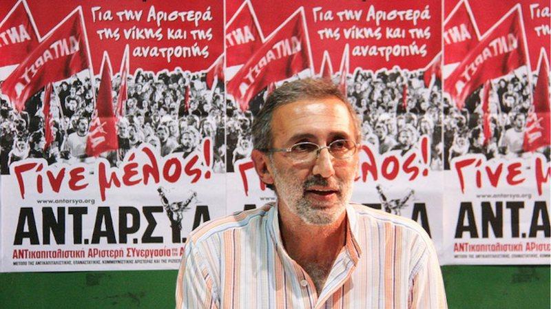 Κωνσταντίνου (ΑΝΤΑΡΣΥΑ): Να απελαθεί ο Μητσοτάκης από τη χώρα και να πάρουμε όλους τους μετανάστες (βίντεο)