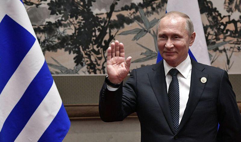 Συγχαρητήριο τηλεγράφημα Πούτιν στην ΠτΔ και τον Κυριάκο Μητσοτάκη