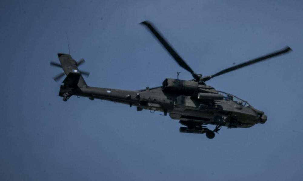 Συνετρίβη ελικόπτερο του ΝΑΤΟ δυτικά της Κεφαλλονιάς