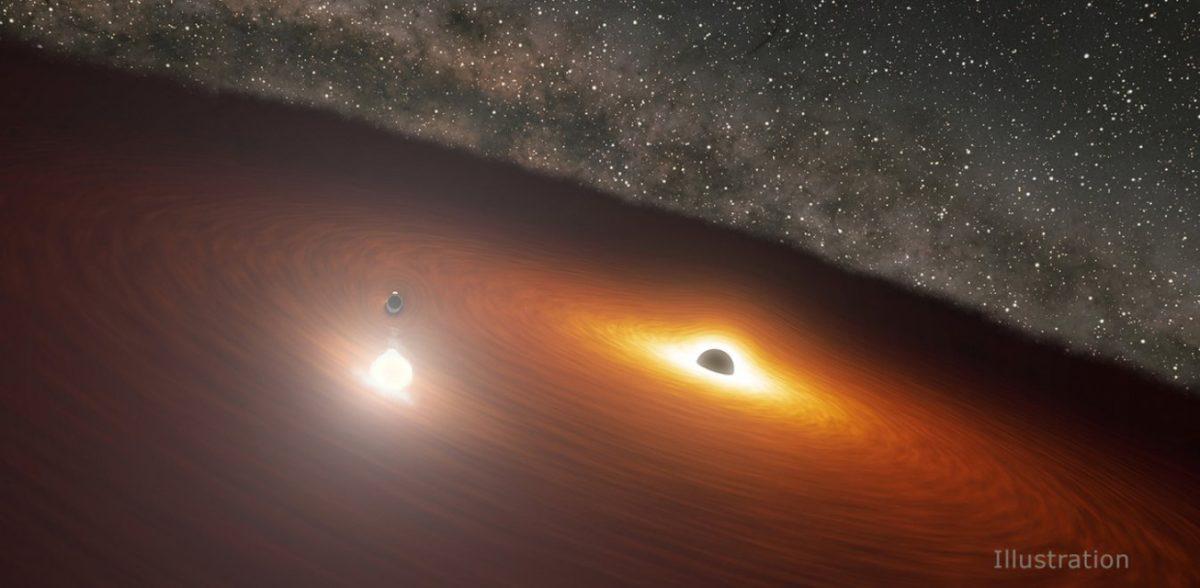 Ανακάλυψη NASA: Η «μαύρη τρύπα» που εκρήγνυται και φωτίζει όσο τρία εκατομμύρια αστέρια