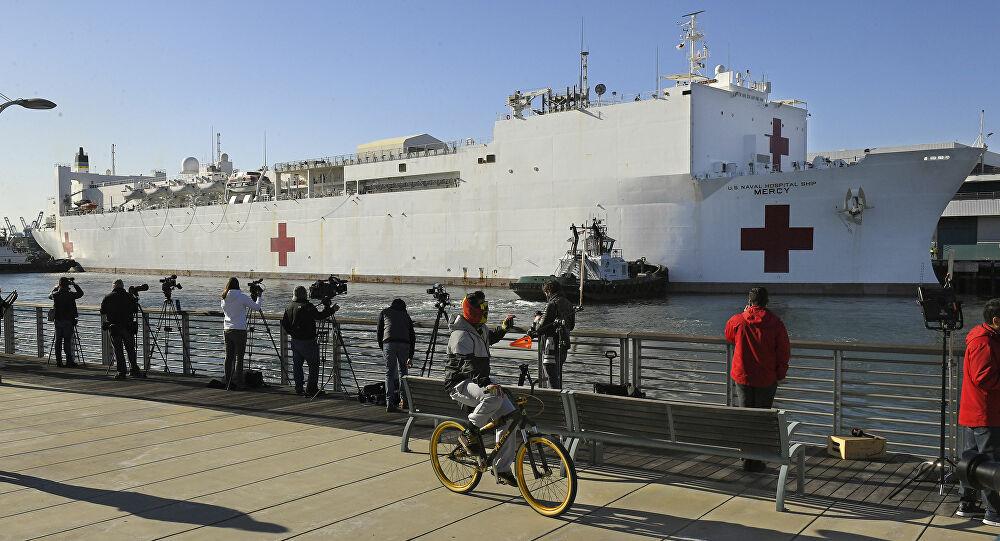 Μηχανοδηγός προσπάθησε να εμβολίσει με τρένο νοσοκομειακό πλοίο