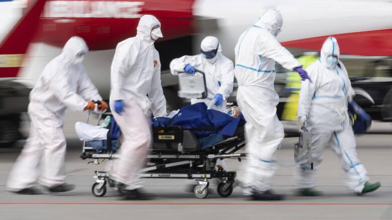 Κορονοϊός στην Ιταλία: 525 νεκροί μέσα σε 24 ώρες