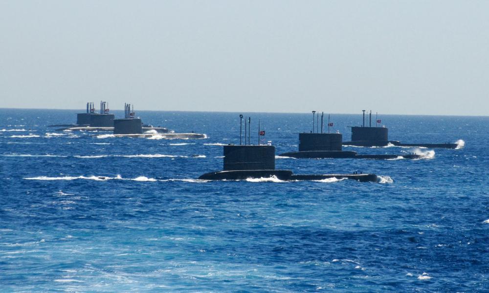"""""""Πόλεμος"""" σε Αιγαίο & Α. Μεσόγειο – Έβγαλαν υποβρύχια για ασκήσεις με πραγματικά πυρά οι Τούρκοι"""