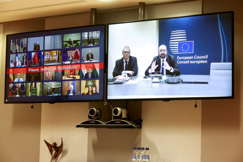 Προς νέο αδιέξοδο η Σύνοδος Κορυφής της ΕΕ για τον κορωνοϊό – «Μεγάλη διαφορά» μεταξύ των κρατών-μελών