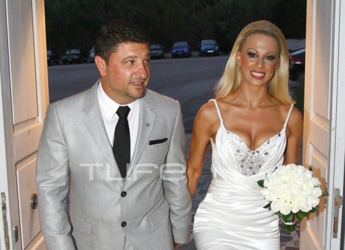 Νίκος Χαρδαλιάς: Οι φωτογραφίες του γάμου του με την όμορφη γυμνάστρια Γιώτα Παναγιωτοπούλου το 2011