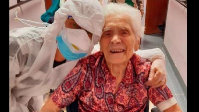 Γιαγιά 104 ετών νίκησε τον κορωνοϊό – «Μετά από δύο πολέμους επέζησα και από την πανδημία»