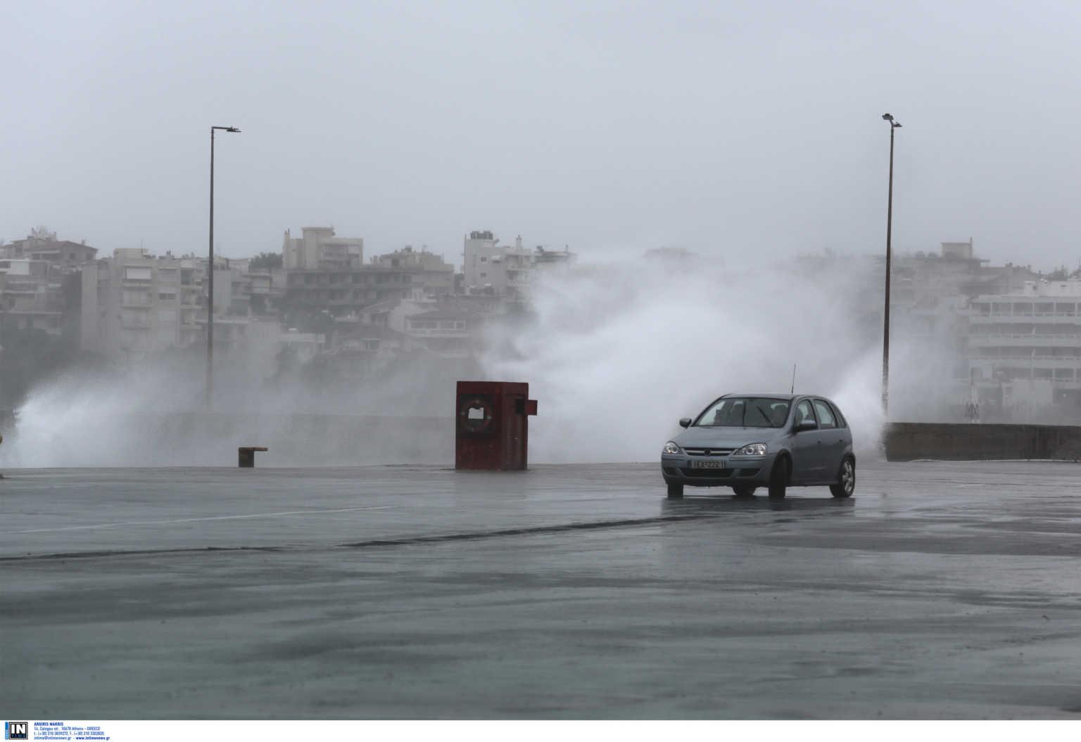 Καιρός αύριο: Επιδείνωση με καταιγίδες θυελλώδεις ανέμους και χιόνια