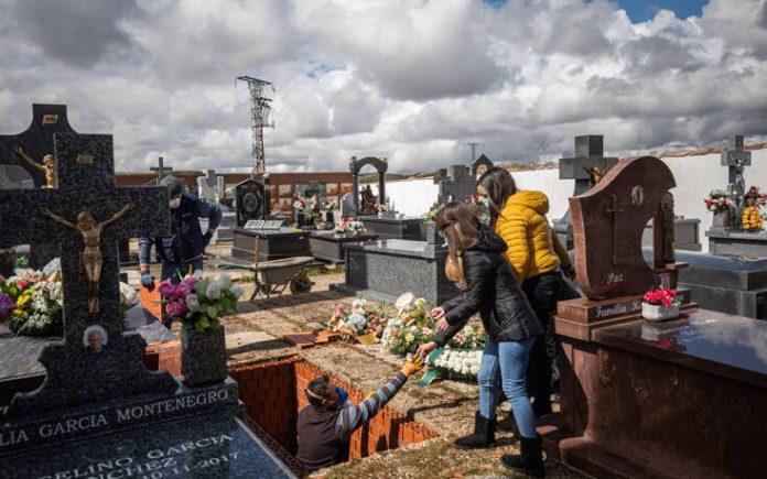 Μαύρη μέρα στην Ισπανία – 950 νεκροί μέσα σε μία νύχτα, 10.003 συνολικά