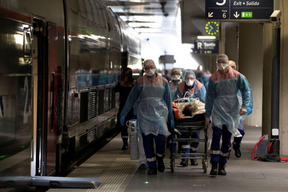 Γαλλία: Ρεκόρ θανάτων, 588 νεκρούς σε 24 ώρες -1.416 νεκροί σε γηροκομεία