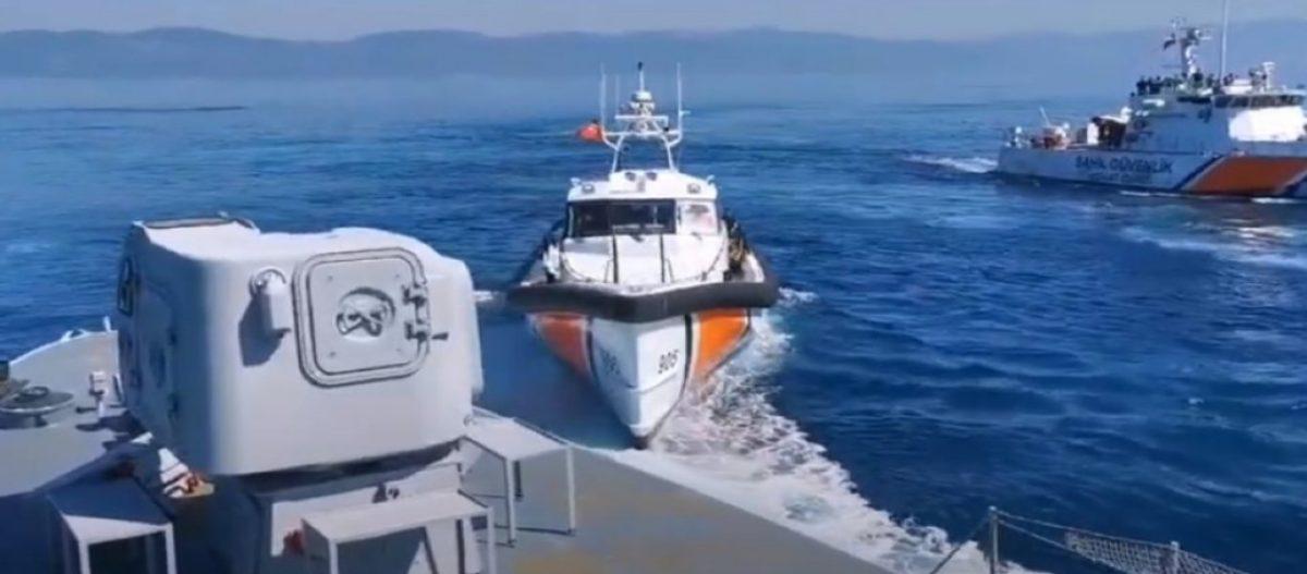 Προκλητικό δημοσίευμα από Αναντολού: «Σκάφη του ΛΣ παραβίασαν τα τουρκικά ύδατα – Τους διώξαμε»!