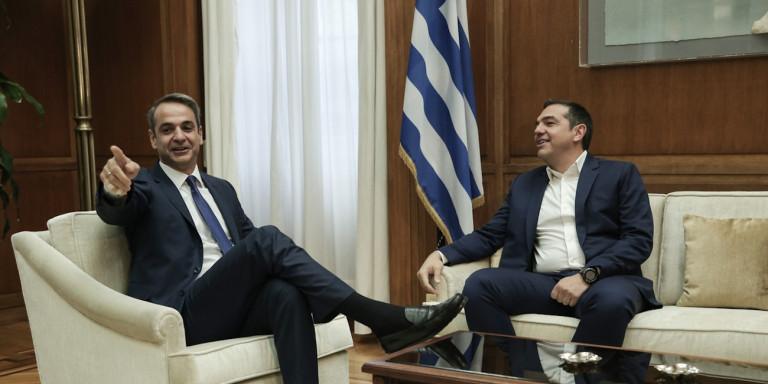 Νέα δημοσκόπηση: Διπλασίασε τα ποσοστά της η ΝΔ έναντι του ΣΥΡΙΖΑ -42,5% έναντι 21,4%