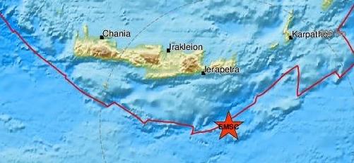 Λέκκας: Πιθανός ένας νέος σεισμός 5,7-5,8 Ρίχτερ στην Κρήτη
