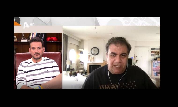 Δημήτρης Σταρόβας: Πήρε θέση στην κόντρα Αρναούτογλου – Κανάκη! Όλα όσα είπε στην Γερμανού (Video)