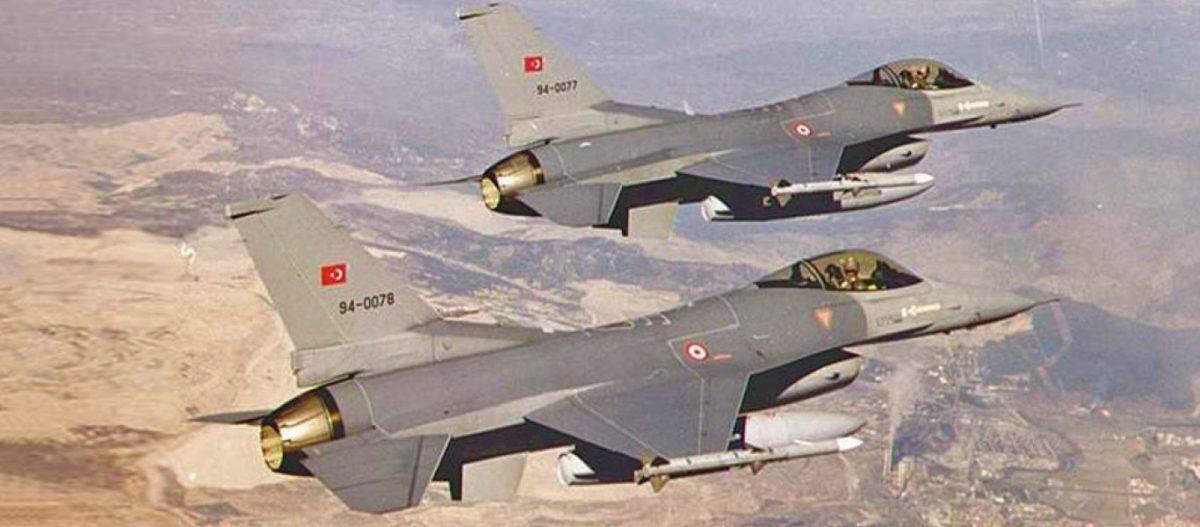 Νέες υπερπτήσεις τουρκικών F-16 πάνω από ελληνικά νησιά