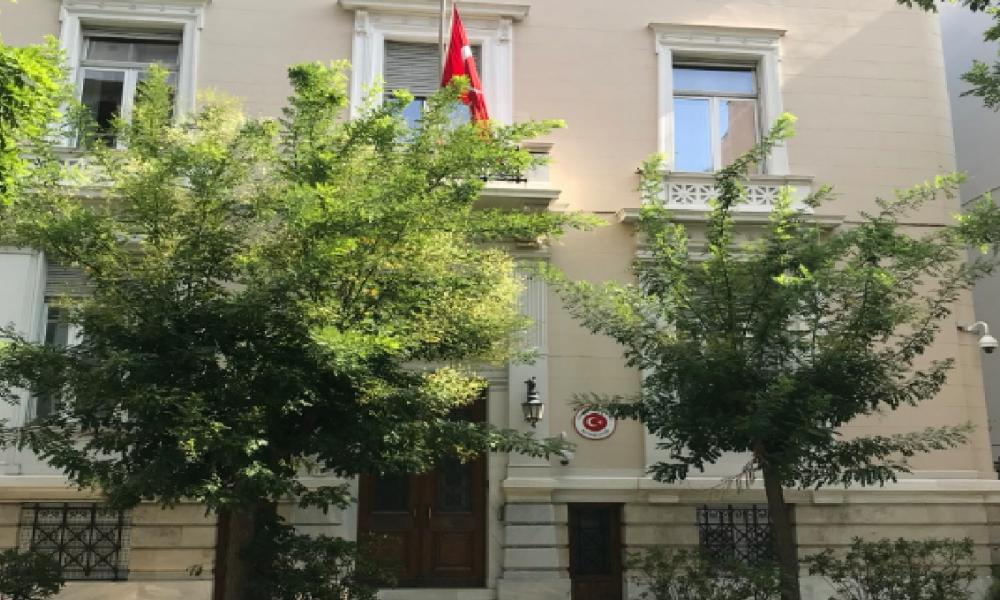 """Απόρρητα έγγραφα-""""βόμβα"""": """"Αρχηγείο"""" της ΜΙΤ η τουρκική πρεσβεία στην Αθήνα"""
