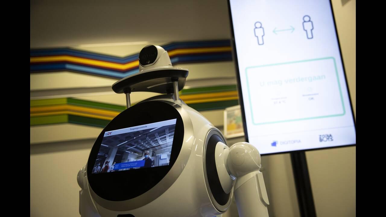 Ρομπότ – «νοσοκόμες» επιστρατεύτηκαν σε νοσοκομεία του Βελγίου