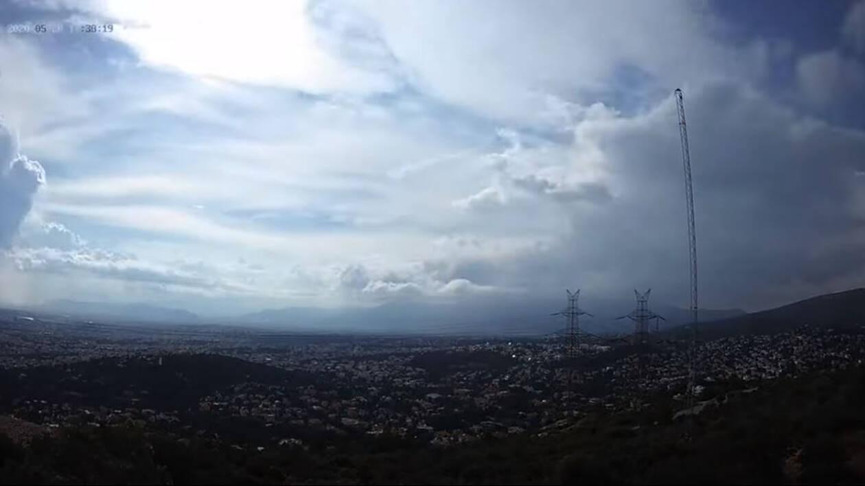 Εντυπωσιακά βίντεο: Οι καταιγίδες όπως φαίνονται από το διάστημα και την Πεντέλη