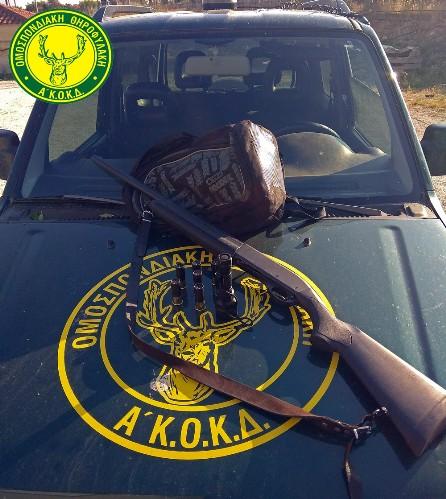 Συλλήψεις στις Στροβλές Κισσάμου για νυχτερινή θήρα λαγού (pic)