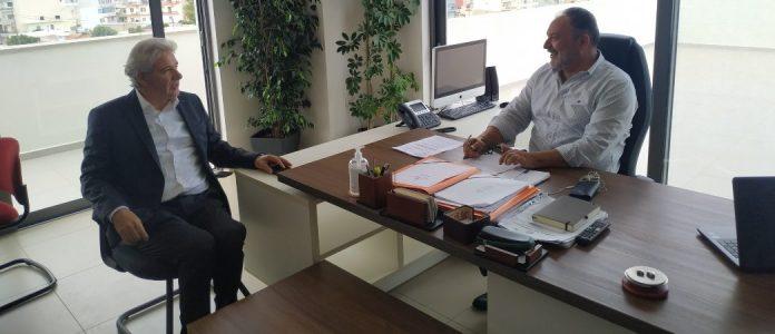 Συνάντηση Κουράκη – Παπαδογιάννη  για έργα και υποδομές στην Κρήτη (pic)