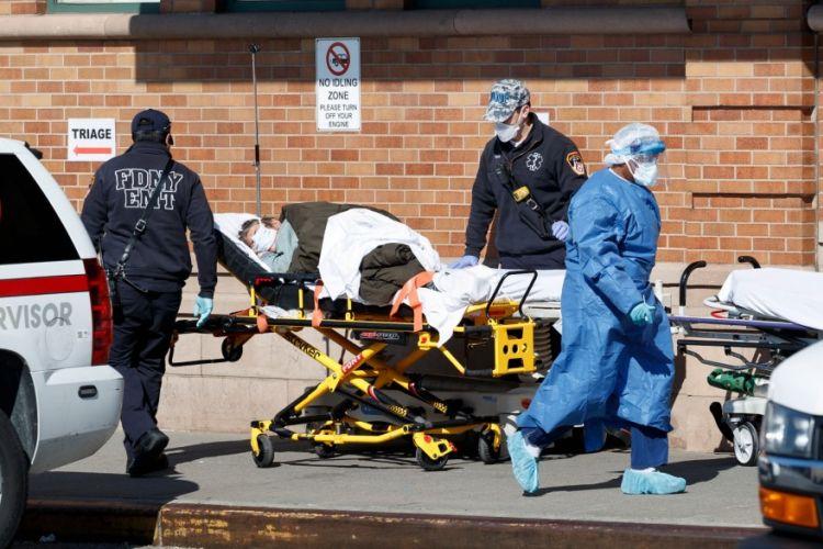 Κορωνοϊός: 1.754 νεκροί στις ΗΠΑ το τελευταίο 24ωρο