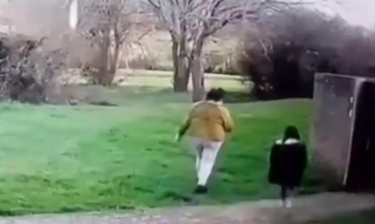 Η σοκαριστική στιγμή που 33χρονη απαγάγει 5χρονη από παιδική χαρά (vid)