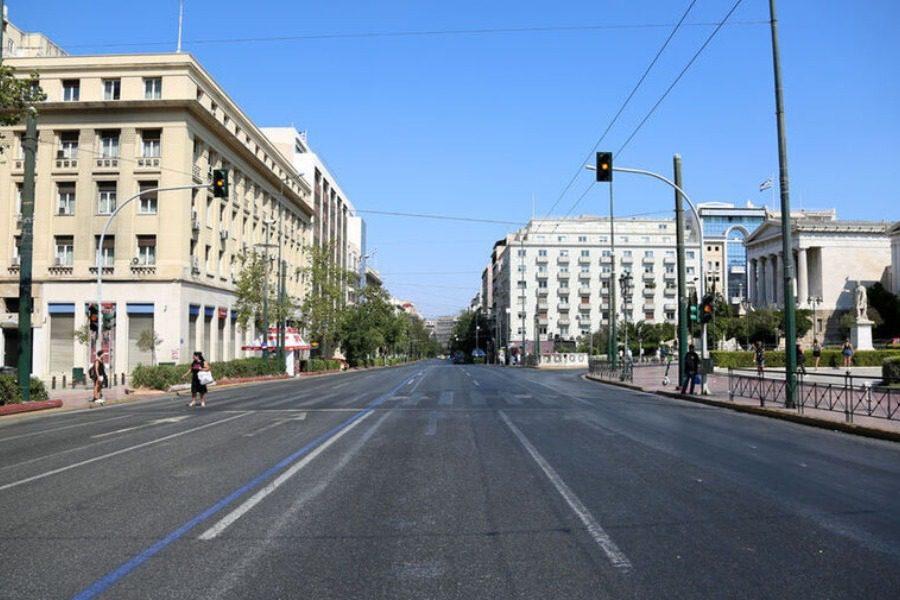 Χωρίς αυτοκίνητα το κέντρο της Αθήνας για τουλάχιστον τρεις μήνες