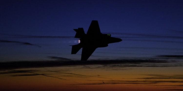F-35 της Πολεμικής Αεροπορίας των ΗΠΑ συνετρίβη κατά τη διάρκεια εκπαιδευτικής πτήσης