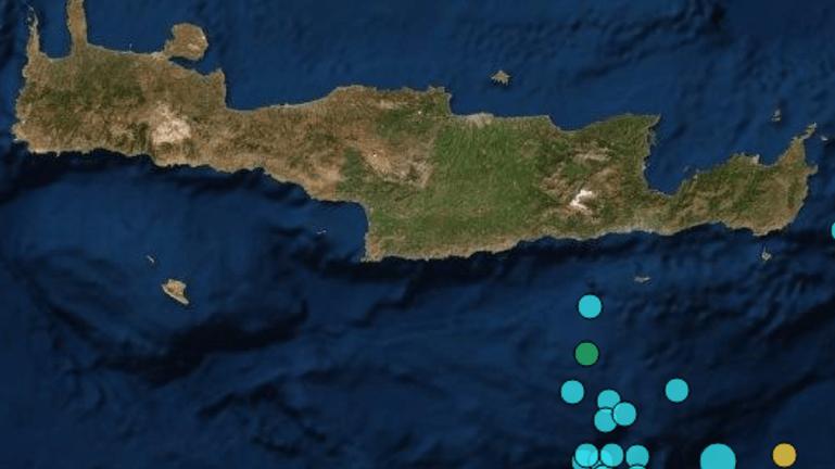 Ταρακουνήθηκε ξανά η Κρήτη
