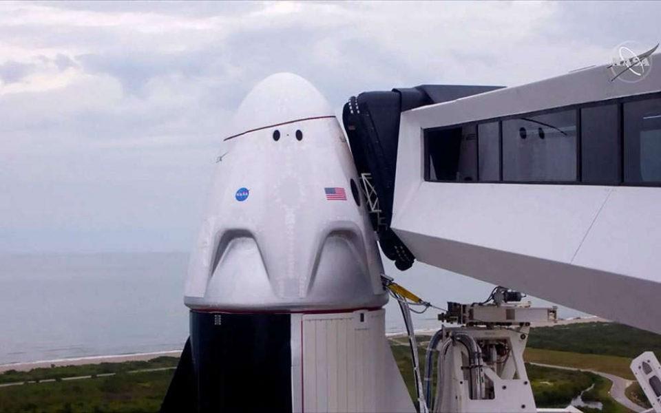 SpaceX: Ακυρώθηκε η ιστορική εκτόξευση! LIVE εικόνα