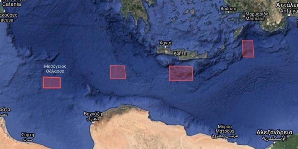 Η Τουρκία εξέδωσε Navtex νότια της Κρήτης στη «ρότα» της «Γαλάζιας Πατρίδας»