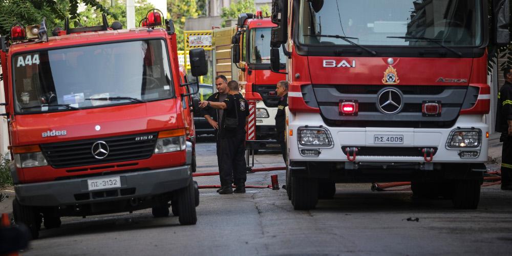 Συναγερμός στην Πυροσβεστική: Νεκρή ηλικιωμένη μετά από πυρκαγιά στο Κερατσίνι