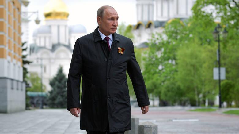 Ρεκόρ κρουσμάτων στη Ρωσία και διάγγελμα Πούτιν