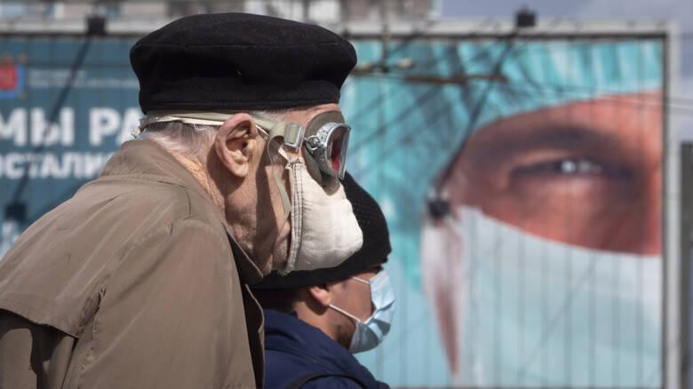 Ρωσία: Περισσότερα από 10.000 κρούσματα για 11η ημέρα