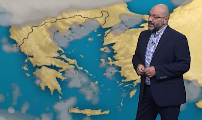 Αρναούτογλου: Αυτό είναι το σπάνιο καιρικό φαινόμενο που καταγράφηκε στην Κρήτη το μεσημέρι της Τρίτης
