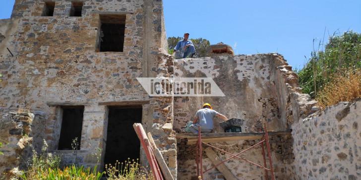 Σε εξέλιξη εργασίες αποκατάστασης στην Σπιναλόγκα [εικόνες]