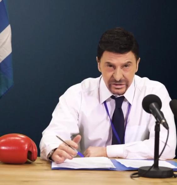 Ο Τάκης Ζαχαράτος, γίνεται Νίκος Χαρδαλιάς, και είναι απλά απολαυστικός! Βίντεο