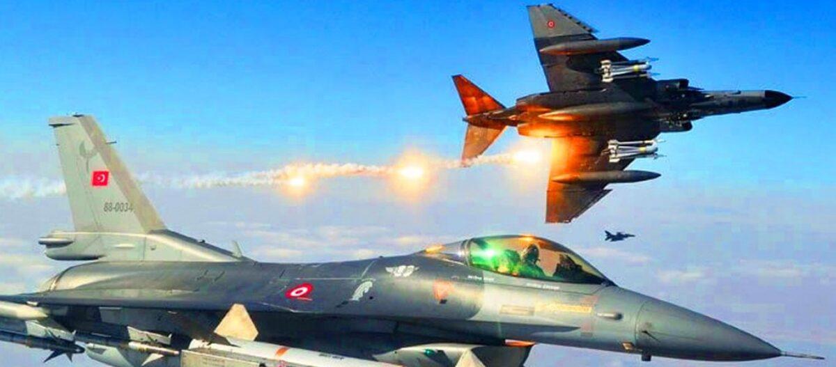 Μαζικές πτήσεις τουρκικών μαχητικών επάνω από ελληνικό έδαφος σε Δωδεκάνησα και κεντρικό Αιγαίο