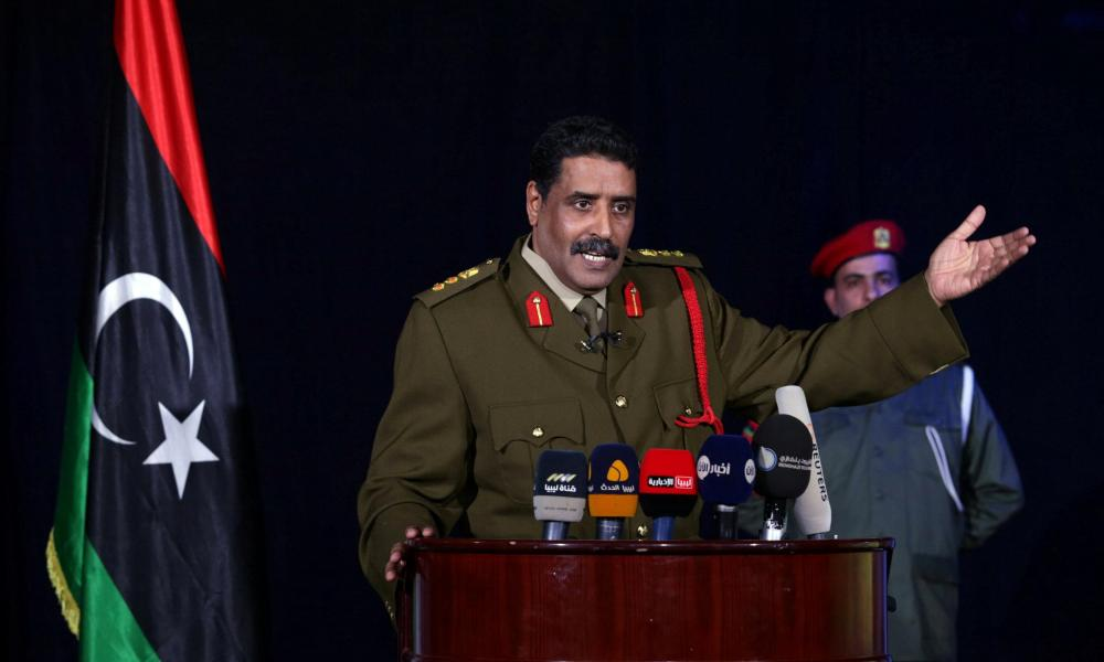"""Στρατηγός Αλ Μισμάρι: """"Η Λιβύη έχει μετατραπεί σε διεθνή μάχη κατά της Τουρκίας"""""""