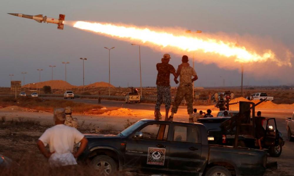 """Εξελίξεις στη Λιβύη: Μεταφέρθηκε στη Σύρτη το Τάγμα """"Κεραυνός"""" του LNA"""