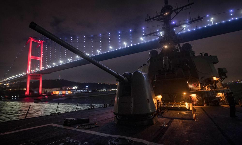 """Colpo grosso"" των ΗΠΑ στη Μ. Θάλασσα: Αναζητούν βάση σε Τουρκία-Ρουμανία"