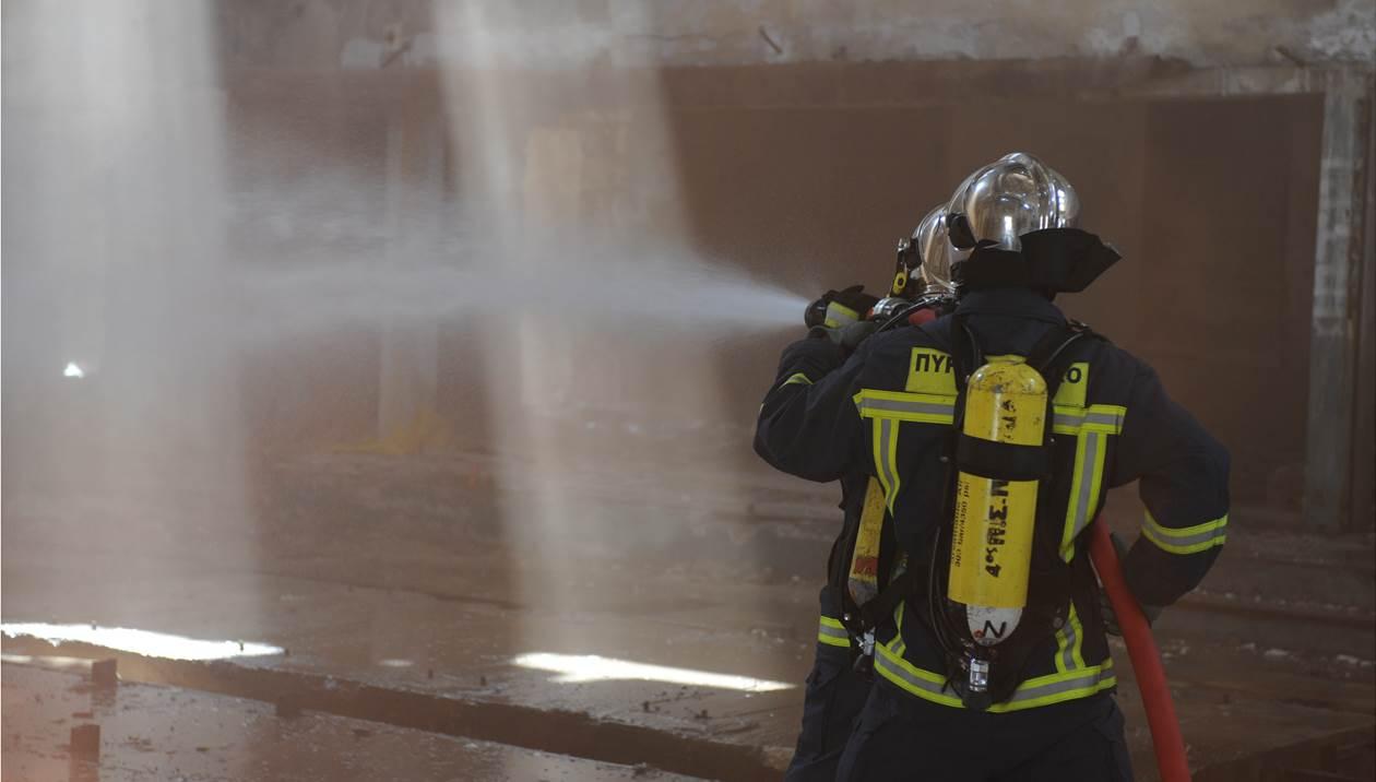 Νέα φωτιά στην Κρήτη μέσα σε λίγες ώρες – Στις φλόγες αποθήκη